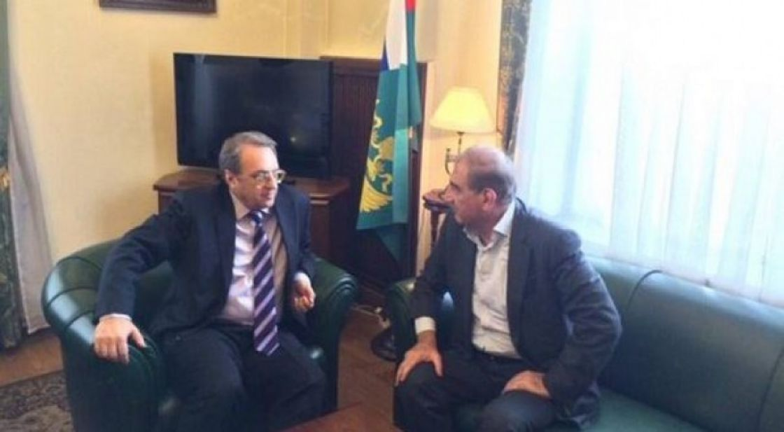 Russian Foreign Ministry Press Release on the Meeting of Bogdanov and Jamil