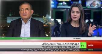 لقاء د.قدري جميل على قناة روسيا اليوم 22/11/2017