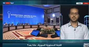 لقاء عضو اللجنة الدستورية عن منصة موسكو للمعارضة السورية مهند دليقان