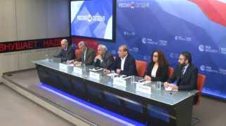 مؤتمر صحفي لمنصة موسكو للمعارضة السورية من العاصمة الروسية 24/04/2018