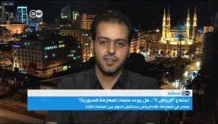 لقاء مهند دليقان على قناة DW العربية 18/08/2017