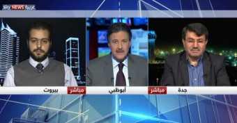 لقاء مهند دليقان على قناة سكاي نيوز عربية 26/12/2017