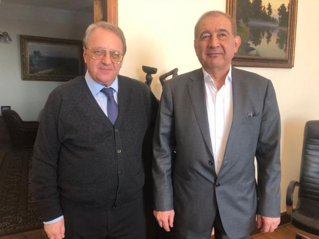 Press Release by Russian Foreign Ministry on Bogdanov-Jamil Meeting