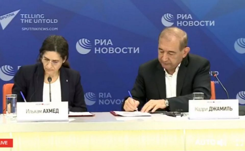 Memorandum of Understanding Between Syrian Democratic Council and People's Will Party