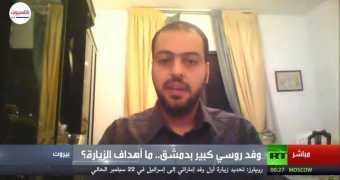 لقاء مهند دليقان على قناة روسيا اليوم 07/09/2020