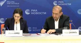 مؤتمر صحفي لتوقيع مذكرة تفاهم بين مجلس سوريا الديمقراطية وحزب الإرادة الشعبية
