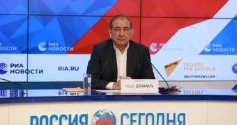مؤتمر صحفي لرئيس منصة موسكو للمعارضة السورية د.قدري جميل