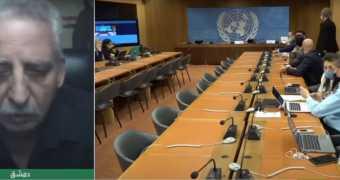 حوار أمين حزب الإرادة الشعبية، علاء عرفات على قناة روسيا اليوم، حول الجولة السادسة للجنة الدستورية